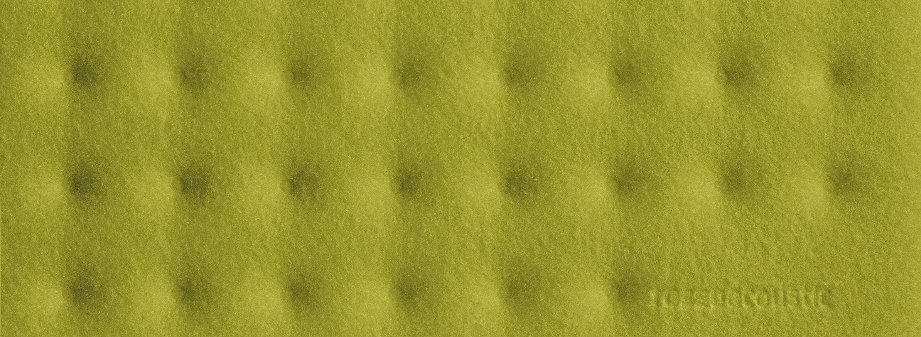 Rossoacoustic PAD Q 1200 Basic, 1200 x 1200 x 25 mm, soft moss