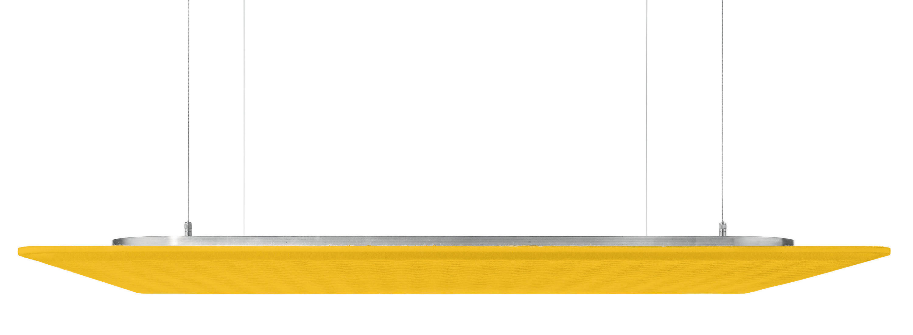 Rossoacoustic PAD Q 900 Basic, 900 x 900 x 25 mm, yellow field