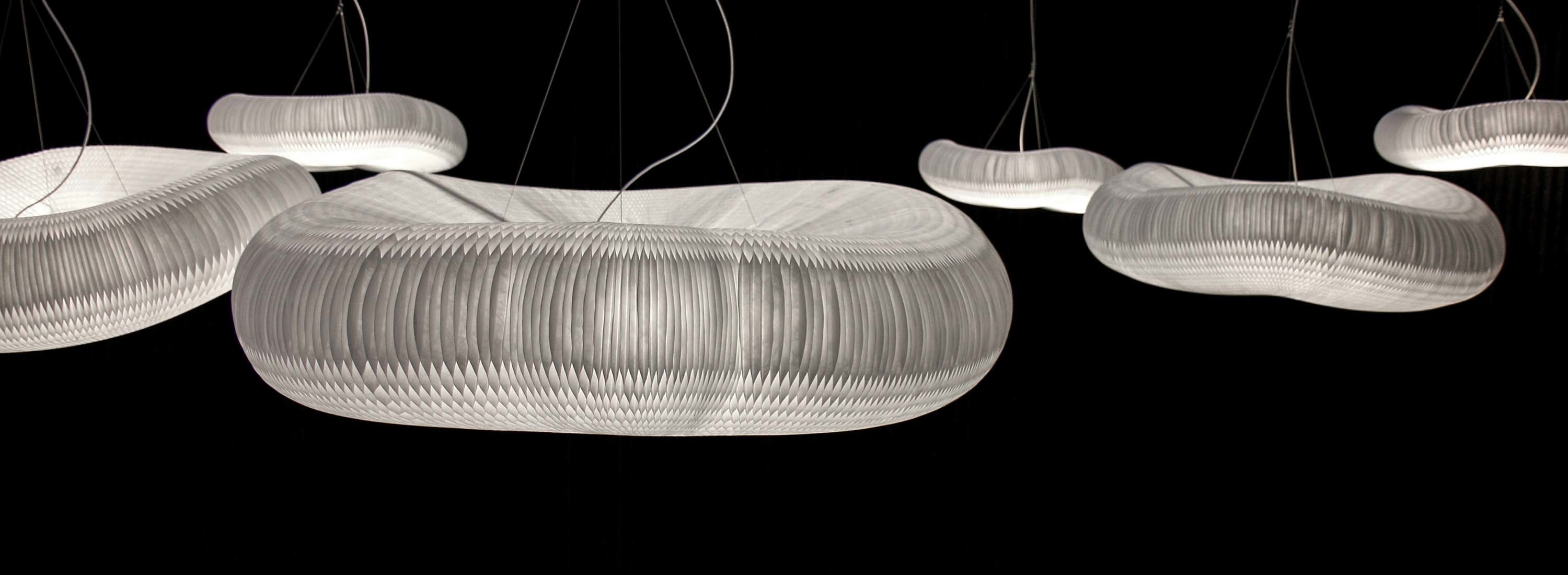 cloud softlight pendant - neutral white, x-large, plug-in